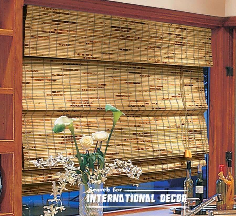Bamboo Window Shades Curtains