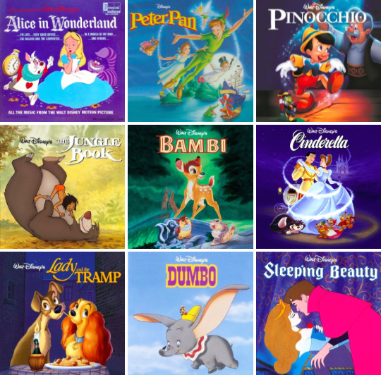 Monday's Music, Best Disney Songs, Songs from Disney Golden Age