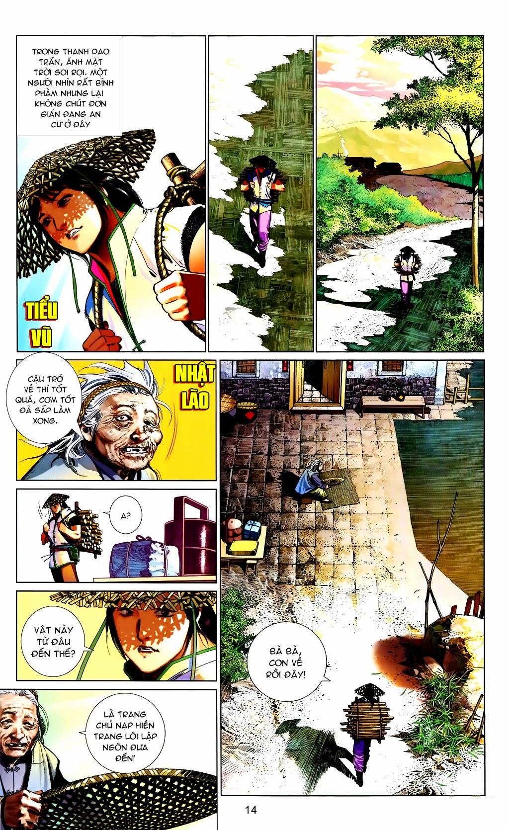 Phong Vân Chap 663 - Trang 14