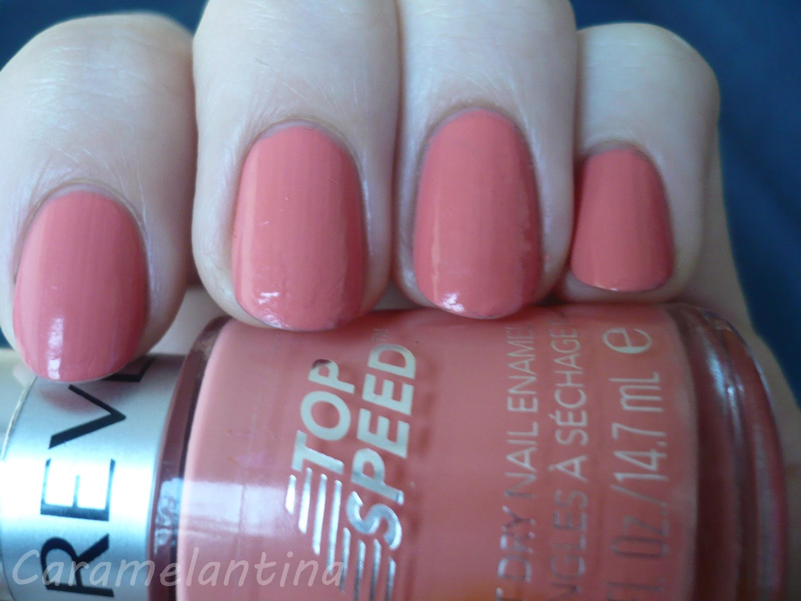 Revlon Top Speed 405 Peachy, opiniones swatch review