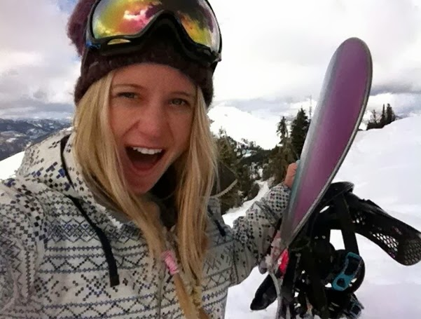 sexy winter olympic snowboarder Hannah Teter