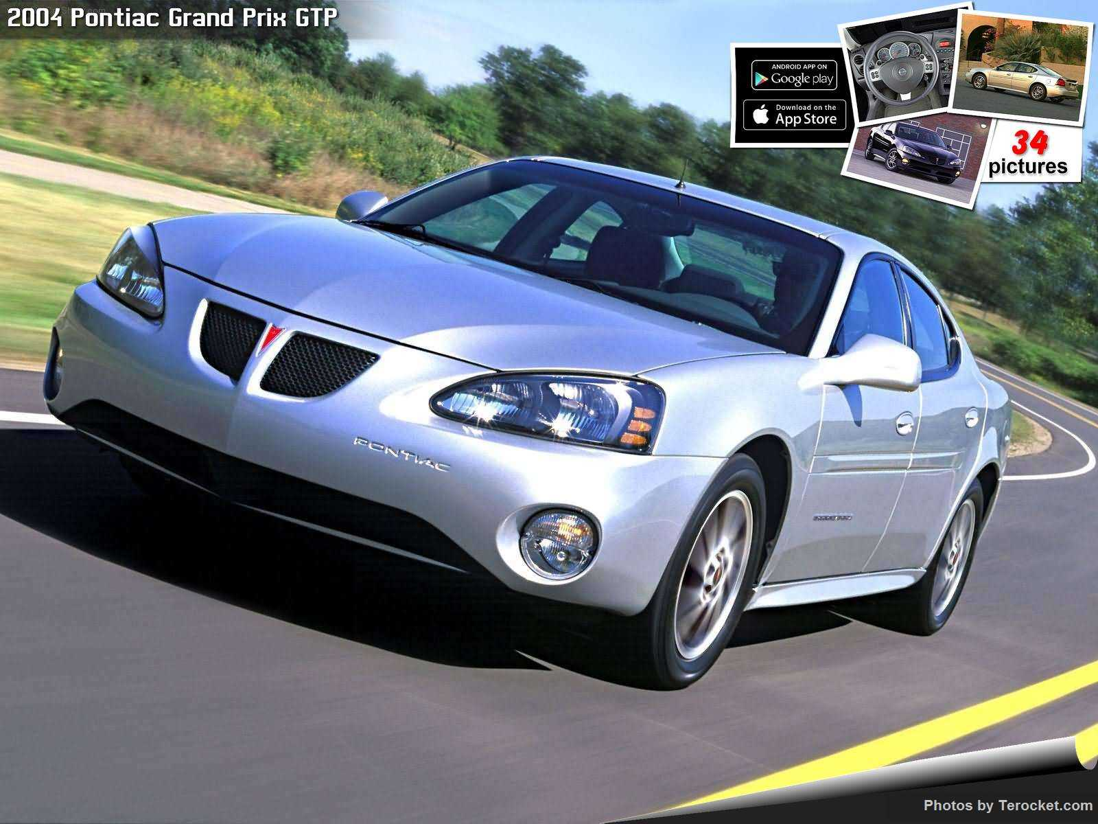 Hình ảnh xe ô tô Pontiac Grand Prix GTP 2004 & nội ngoại thất