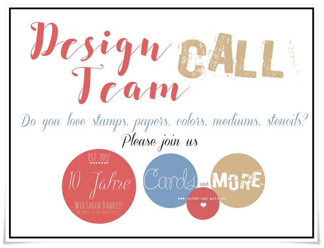 Cards & more Design Team Call