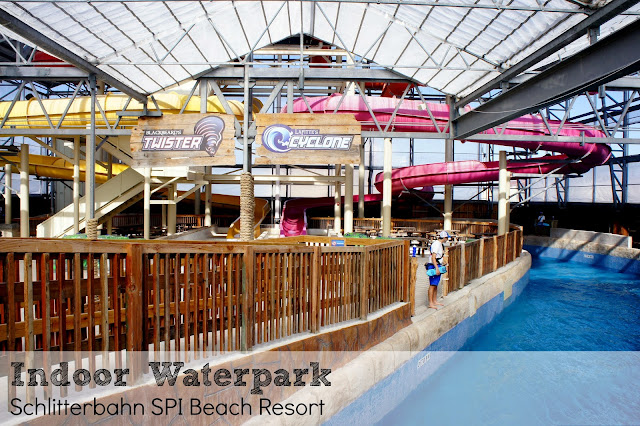 Indoor water park Schlitterbahn South Padre Island Beach Resort