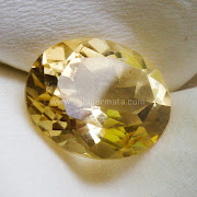 Batu Permata Black Yellow Citrine - SP932