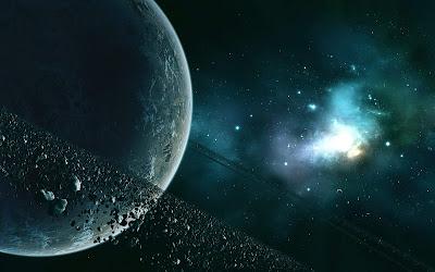 Hd planets space - digital art wallpaper - space art wallpaper