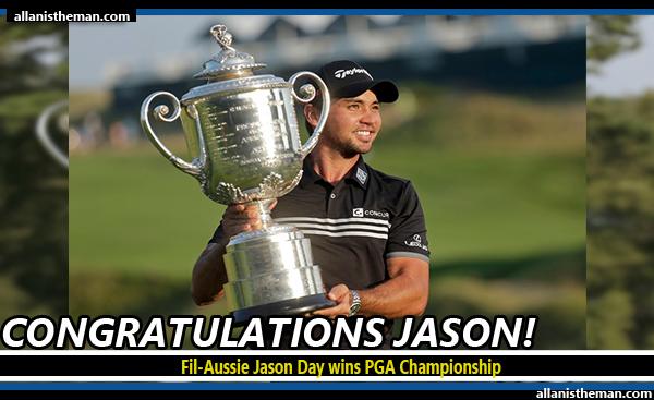 Fil-Aussie Jason Day wins PGA Championship