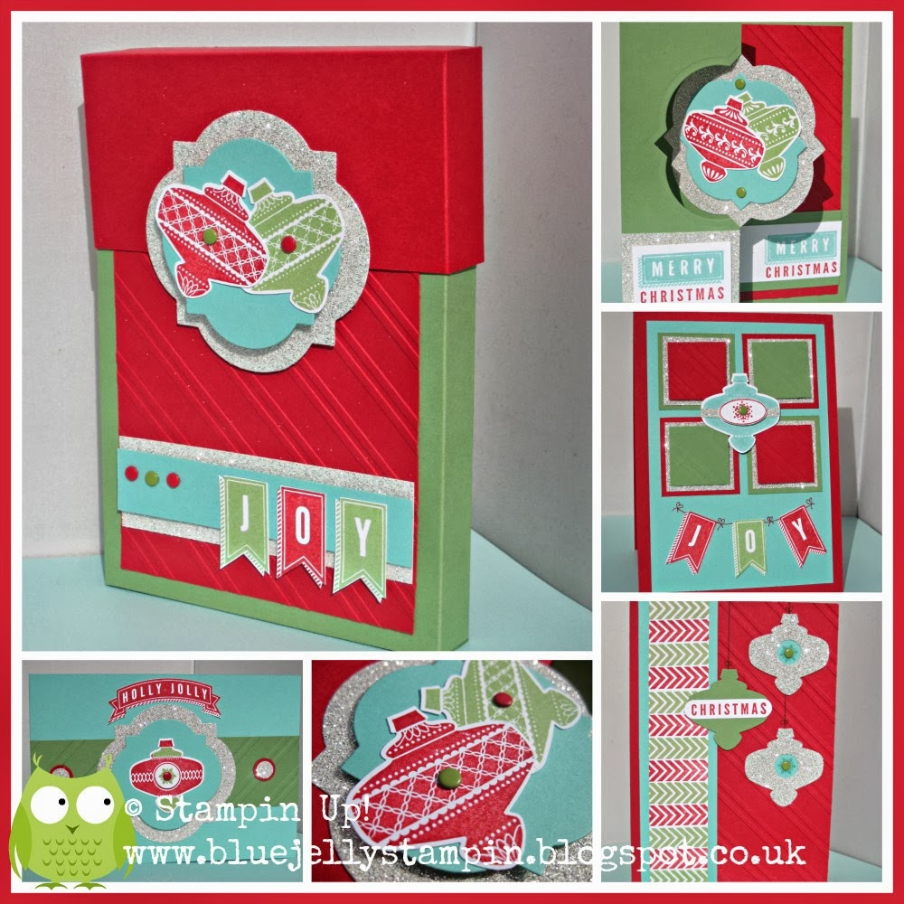 Stampin' Up! Christmas Collectables Tutorial