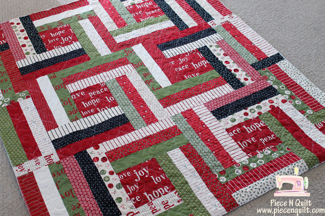 Piece N Quilt: Countdown to Christmas ~ a Christmas Quilt