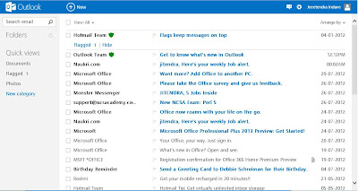 inbox in outlook