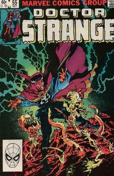 Portada de Doctor Strange Vol1-55