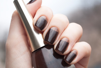 Half Moon Manicure with Golde Rose Paris 73 & LCF Express 12