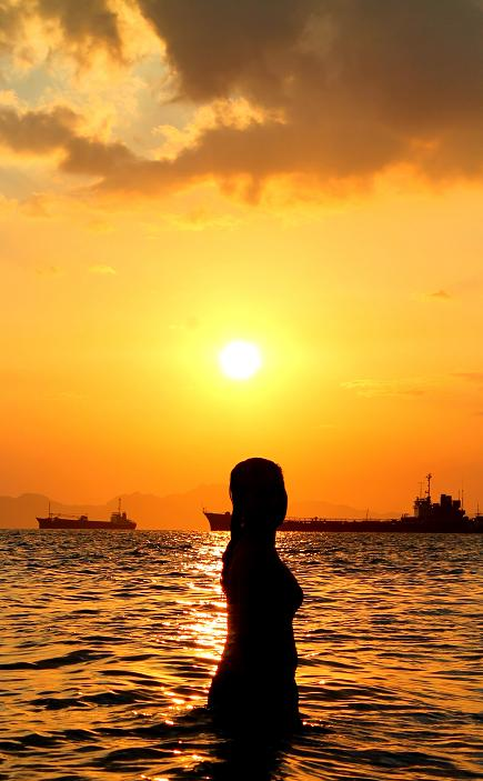 Buy Girl Beach silhouette video pictures pictures trends