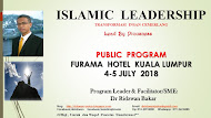 ISLAMIC LEADERSHIP PUBLIC PROGRAM 2018