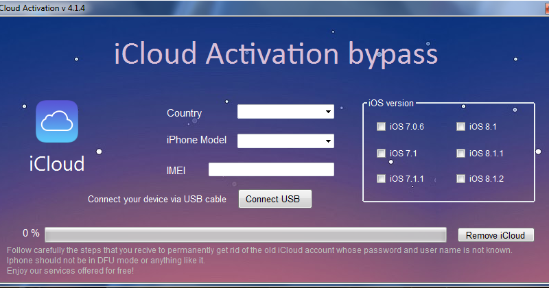 official bypass icloud activation lock gratuit