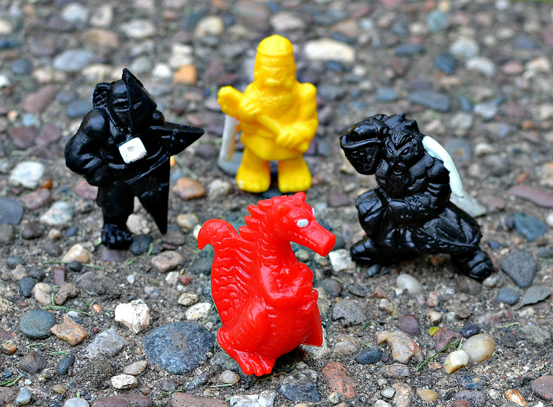 Mini Ninja Toys : Little weirdos mini figures and other monster toys n i