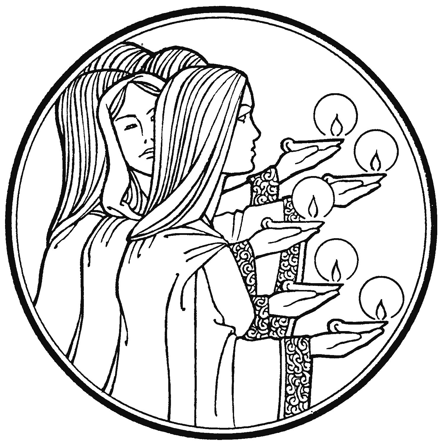 Image Result For Lamps Coloring Pages