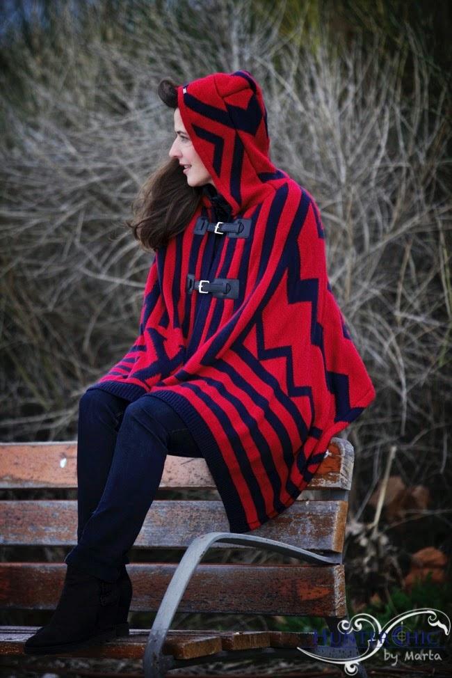 Que me pongo-blog de moda-mejorblog de moda-como combinar un poncho-capa
