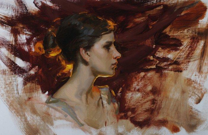 Michael Malm 1972 | American Figurative painter