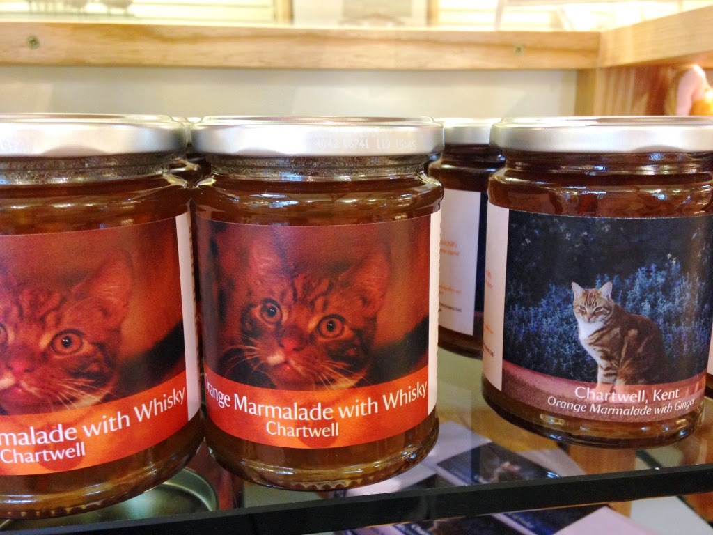 Chartwell jars of marmalade