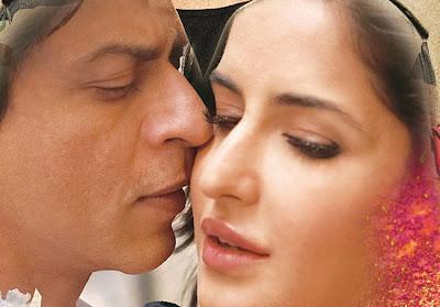 Shah Rukh with Katrina in Jab Tak Hain Jaan