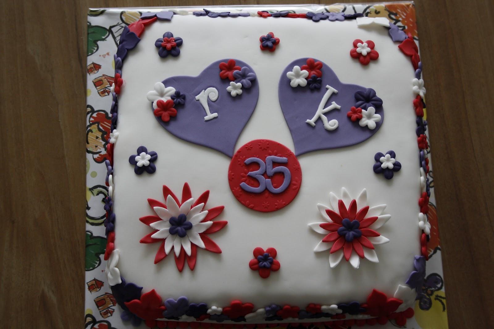 taart 35 jaar