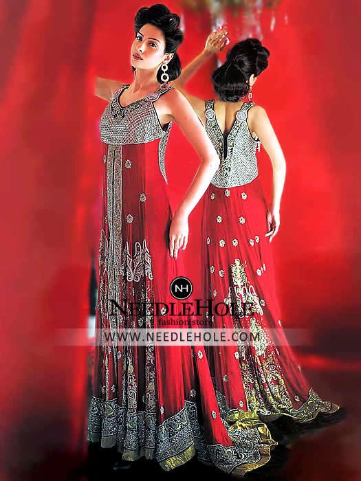 Bridal Sharara Dress For Bride By Deepak Perwani