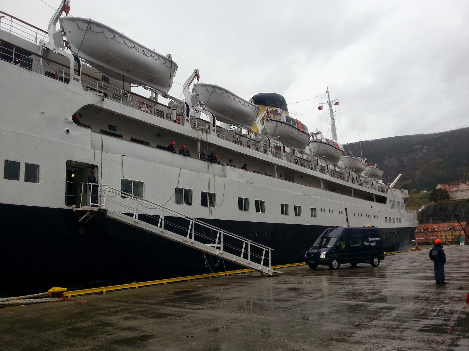 Cruise Ship Funchal in Bergen, Norway