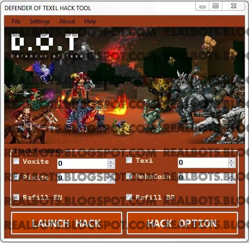 Download D.O.T. Defender of Texel Hack Cheat Tool