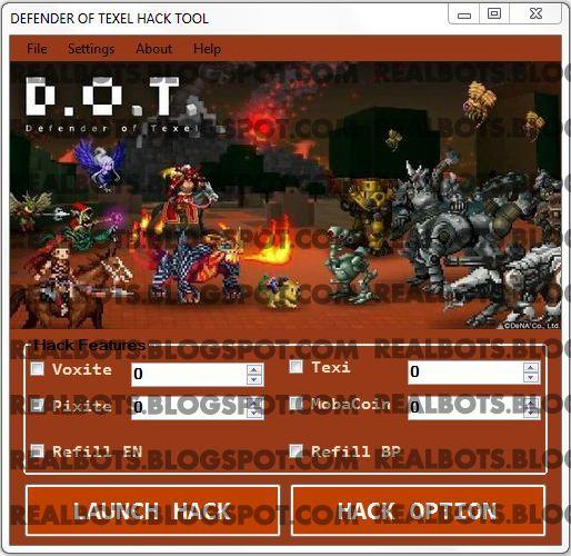 Download D.O.T. Defender of Texel Hack Cheat Tool
