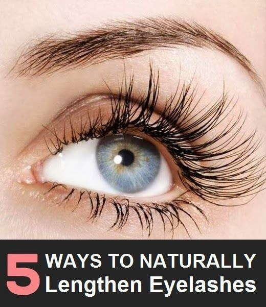 5 Ways to Naturally Lengthen Eyelashes