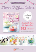 Creative Baking: Deco Chiffon Cakes (Preorders)