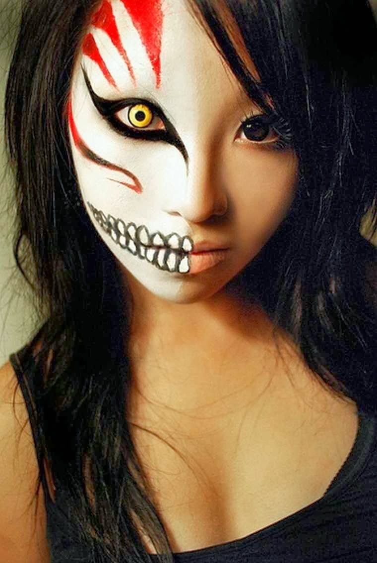 The Nicest Pictures Halloween Scary Makeup Ideas