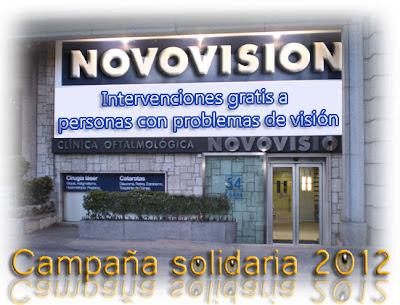 En Novovisión intervenciones gratis a personas con problemas de visión