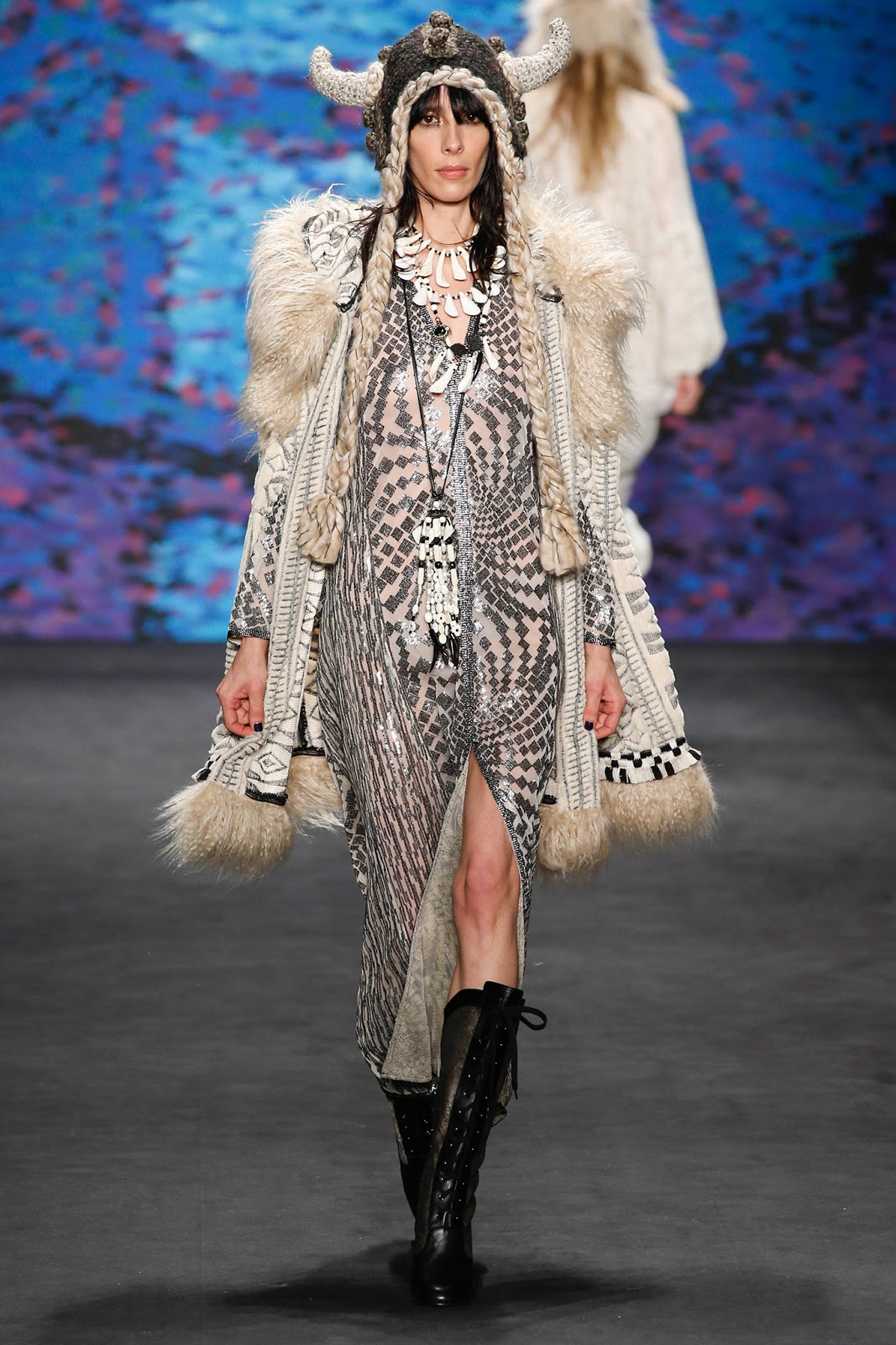 anna sui F/W 2015.16 new york