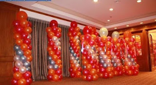 balon standing indoor
