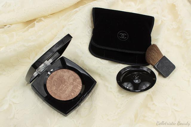 Chanel Dentelle Précieuse Illuminating Powder, Nordstrom Exclusive, Summer 2014 in studio lighting
