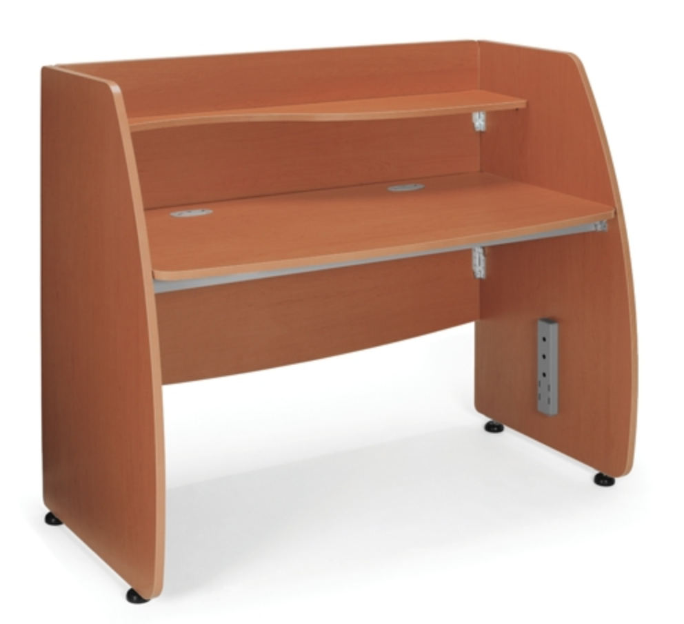 OFM Cherry Small Computer Desk