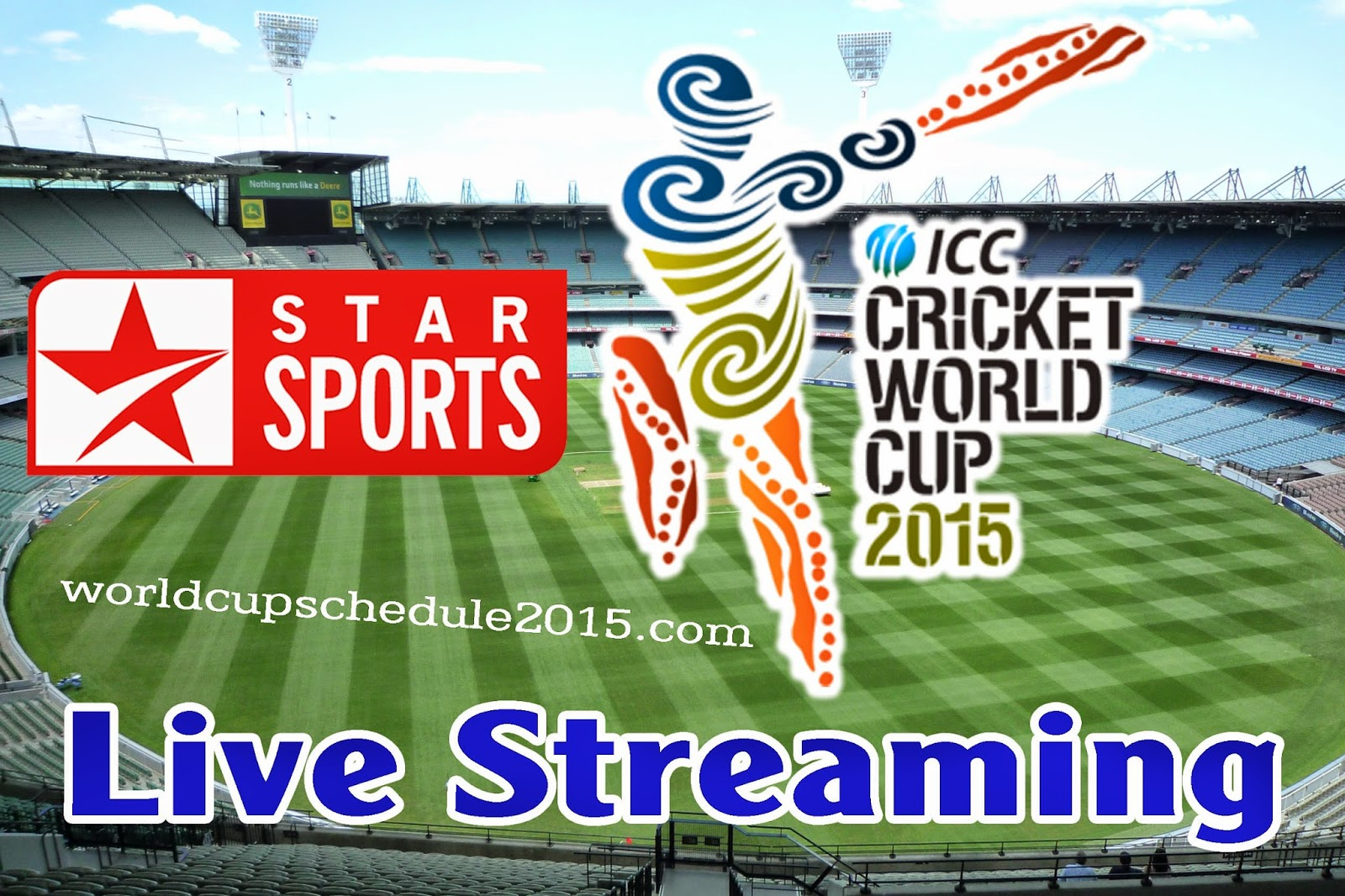 Cricket World Cup 2015 Live Streaming, TV Channel Broadcaster | ICC ...