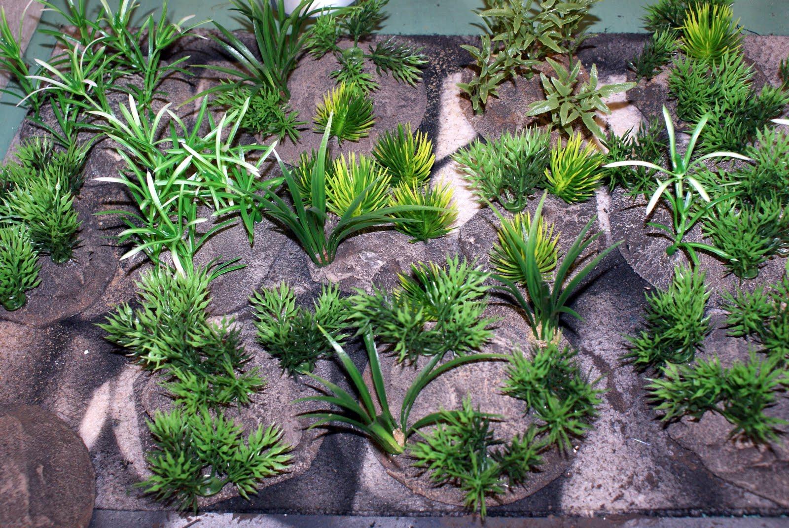 Jungle Plants Jungle terrain pieces