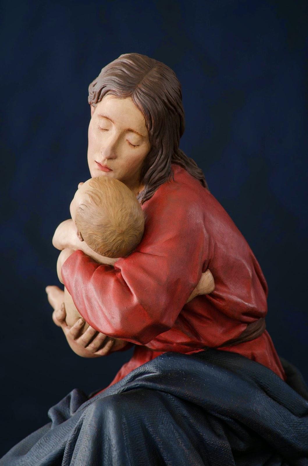 Nacimiento Belén Nativity presepe krippe Arturo Serra Barro cocido 30