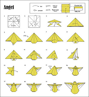 Origami Instruction: Angel Origami
