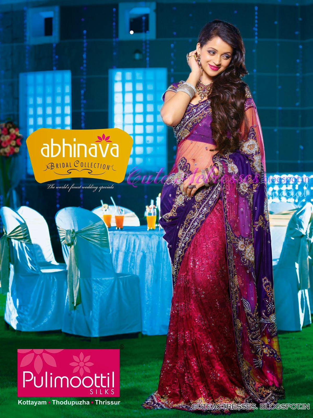 Bhavana in pulimoottil silks ads only cute actresses bhavana in pulimoottil silks ads thecheapjerseys Gallery