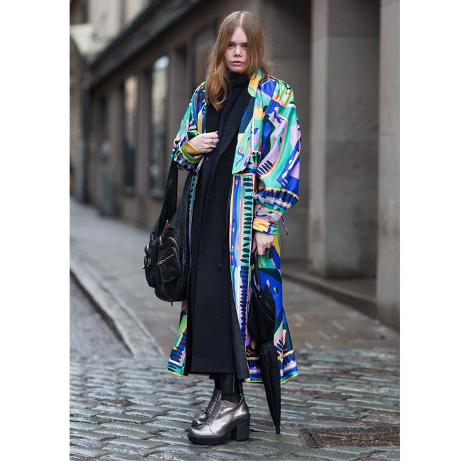 Street style Copenhage Fashion Week 2013 Street Color Style