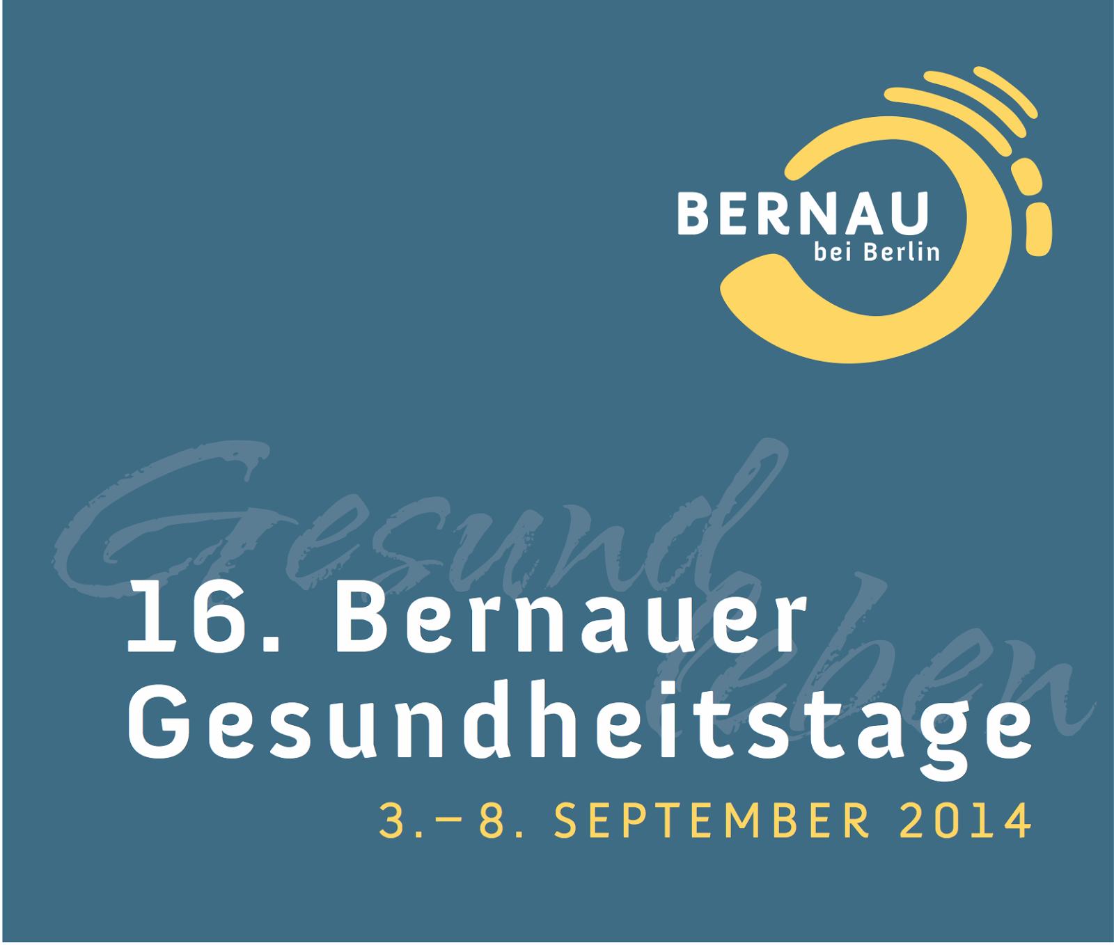 Bernauer Gesundheitstage: Programmflyer erschienen - • Bernau LIVE