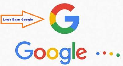 perubahan logo baru google