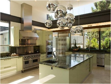 Mid-Century Modern Kitchen Ideas - Amazing Kitchen Decorating Ideas
