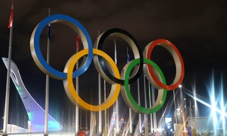 Olympic Rings in Sochi