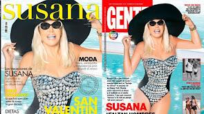 LA NOTICIA DEL DIA:  REVISTA SUSANA (2013) REVISTA GENTE (2019).