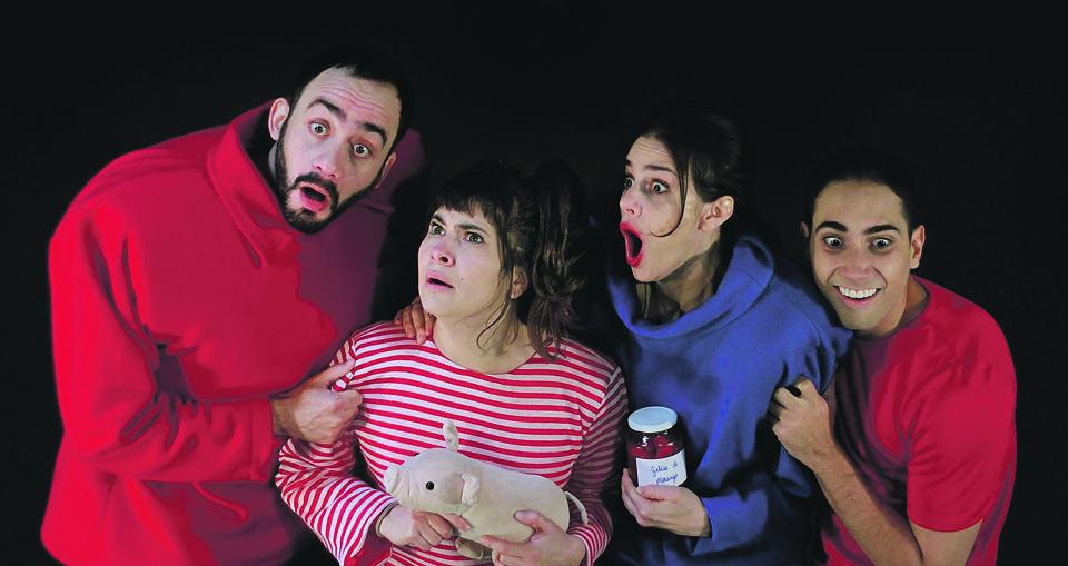 Espetáculo Lobo nas Paredes, teatro guairinha / reprodução divulgação internet